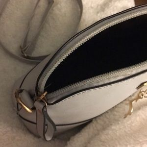 Bags - Gray purse with deer chain connected